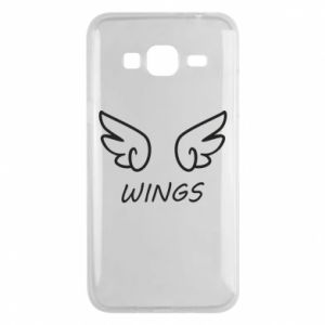 Phone case for Samsung J3 2016 Wings