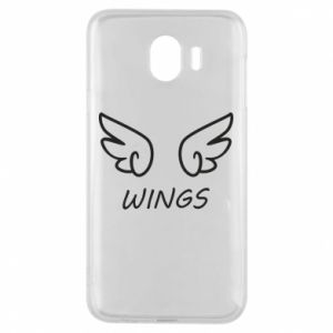 Phone case for Samsung J4 Wings