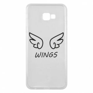 Phone case for Samsung J4 Plus 2018 Wings