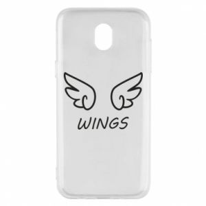 Phone case for Samsung J5 2017 Wings