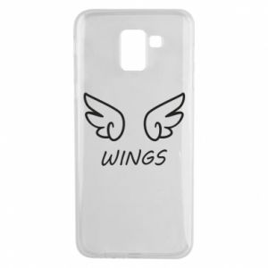 Phone case for Samsung J6 Wings