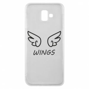 Phone case for Samsung J6 Plus 2018 Wings