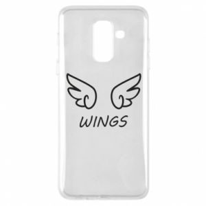Phone case for Samsung A6+ 2018 Wings