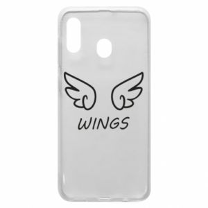 Phone case for Samsung A30 Wings
