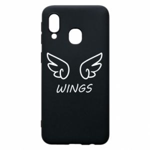 Phone case for Samsung A40 Wings