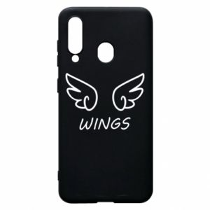 Phone case for Samsung A60 Wings