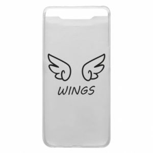 Phone case for Samsung A80 Wings