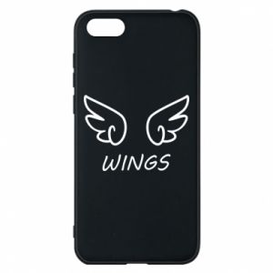 Phone case for Huawei Y5 2018 Wings