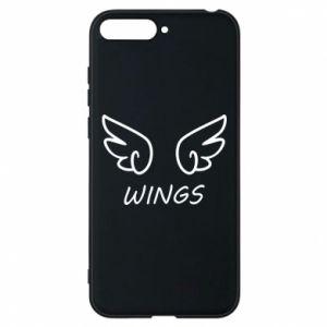 Phone case for Huawei Y6 2018 Wings