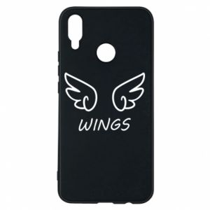 Phone case for Huawei P Smart Plus Wings