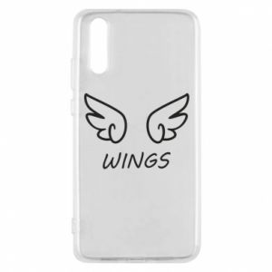 Phone case for Huawei P20 Wings