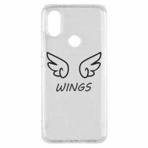 Phone case for Xiaomi Mi A2 Wings