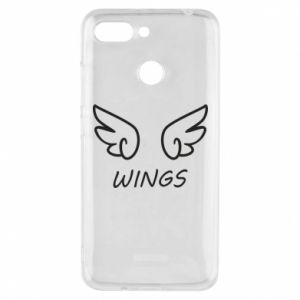 Phone case for Xiaomi Redmi 6 Wings