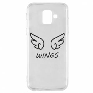 Phone case for Samsung A6 2018 Wings