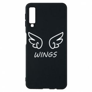 Phone case for Samsung A7 2018 Wings