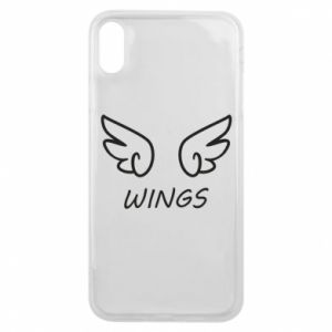 Phone case for iPhone Xs Max Wings