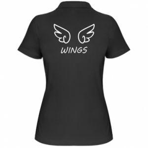 Women's Polo shirt Wings