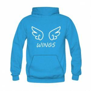 Bluza z kapturem dziecięca Wings