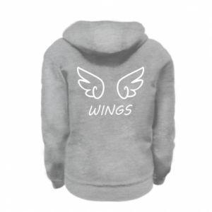 Bluza na zamek dziecięca Wings