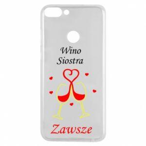 Etui na Huawei P Smart Wino, siostra, zawsze