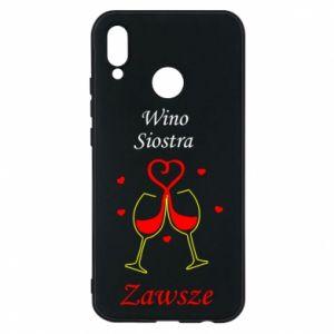 Etui na Huawei P20 Lite Wino, siostra, zawsze