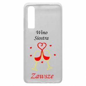 Etui na Huawei P30 Wino, siostra, zawsze