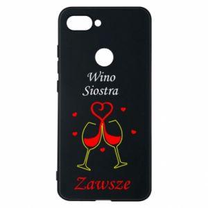Etui na Xiaomi Mi8 Lite Wino, siostra, zawsze