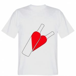 T-shirt Wine is love