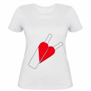 Women's t-shirt Wine is love