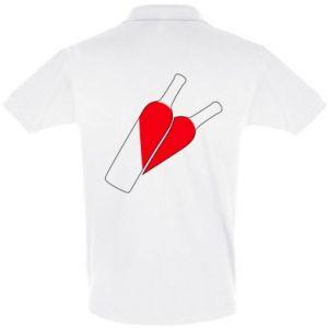 Koszulka Polo Wino to miłość
