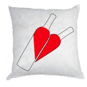 Poduszka Wino to miłość