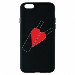 Etui na iPhone 6/6S Wino to miłość