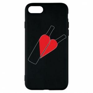 Etui na iPhone 7 Wino to miłość