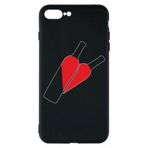 Etui na iPhone 7 Plus Wino to miłość