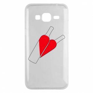 Etui na Samsung J3 2016 Wino to miłość