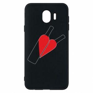 Etui na Samsung J4 Wino to miłość