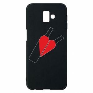 Etui na Samsung J6 Plus 2018 Wino to miłość