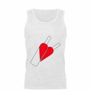 Męska koszulka Wino to miłość