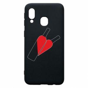 Etui na Samsung A40 Wino to miłość