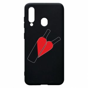 Phone case for Samsung A60 Wine is love