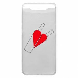 Etui na Samsung A80 Wino to miłość