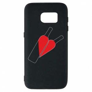 Etui na Samsung S7 Wino to miłość