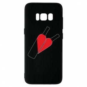Etui na Samsung S8 Wino to miłość