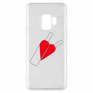 Etui na Samsung S9 Wino to miłość