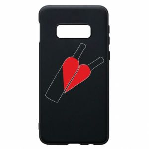Etui na Samsung S10e Wino to miłość