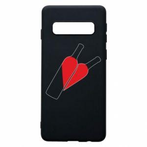 Etui na Samsung S10 Wino to miłość