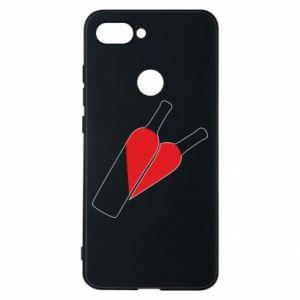 Phone case for Xiaomi Mi8 Lite Wine is love