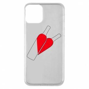 Etui na iPhone 11 Wino to miłość