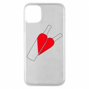 Etui na iPhone 11 Pro Wino to miłość