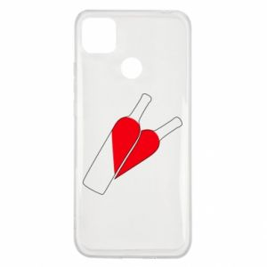 Xiaomi Redmi 9c Case Wine is love